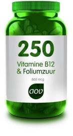 AOV 250 Vitamine B12 & foliumzuur 60 cap