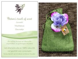 Geurzakje Lavendel groen