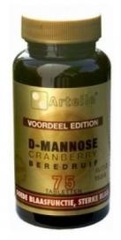 D Mannose Cranberry en Berendruif  75 tabl.