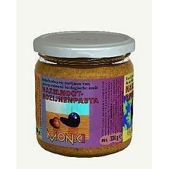 Monki hazelnoot-rozijnenpasta eko 330g