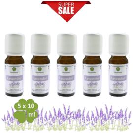 Pure Lavendel olie 5x10ml