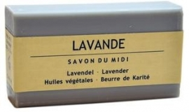 Marseille Shea Butter Soap Lavendel 100g