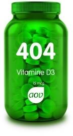 404 Vitamine D3 15 mcg 60 tab.