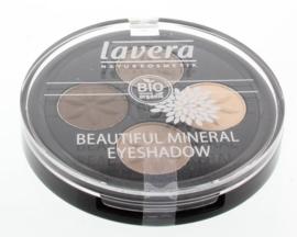 Lavera Oogschaduw/eyeshadow beau min quattro cream 02