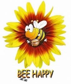 Bee Happy Baby Body long sleeves