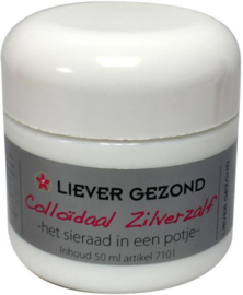 Colloidaal zilverzalf 100ml
