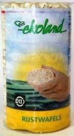 Ekoland rijstwafels zonder zout 100g