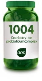 AOV 1004 Cranberry & probioticum complex 60 V Capsules