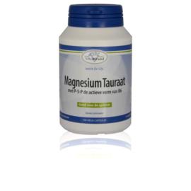 Viatkruid Magnesium tauraat met p-5-p 100 vcaps.