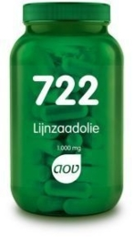 AOV Lijnzaadolie 100 mg. 90 Cap.