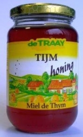 Traay tijm honing 350g