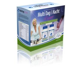 Vitakruid multi dag & nacht vrouw 2 x 90 tabletten 180 tabletten.