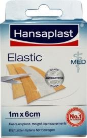 Hansaplast elastic Med colloidaal zilver 1M x 6cm