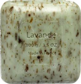 Vegan Sheabutter Lavendel kruidenzeep 100g