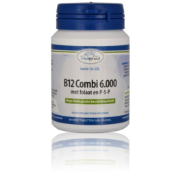 Vitakruid Combi 6000 met folaat & P5P 60 tabletten.