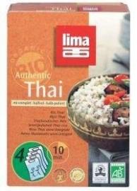 Lima rijst thai halfvol builtjes 4 x 125g