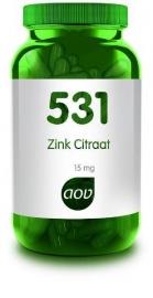 531 Zink citraat 15 mg  60 Cap.