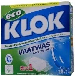 Klok Vaatwas tabletten 26x