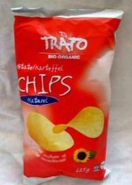 Trafo aardappelchips naturel 125g