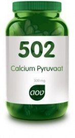 502 AOV Calcium pyruvaat 500 mg. 60 Cap.