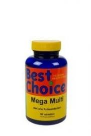 Mega Multi vitamine 60 tabletten