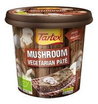 Tartex Paté champignon bio 125g