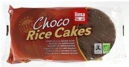 Lima rijstwafels melkchocolade 100g