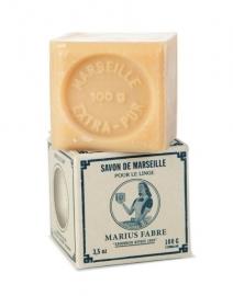 Marius Fabre Savon Marseille blanc 100g