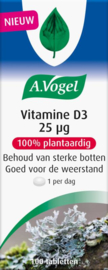 A Vogel Vitamine D3 25ug. 100 tabletten.