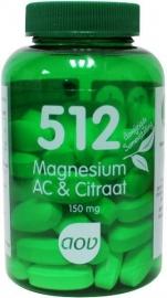 512 AOV Magnesium AC &citraat  60 Cap.