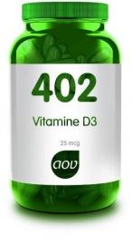 402 AOV Vitamine D3 25 mcg 60 Cap.