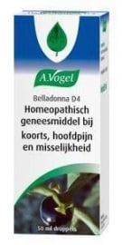 Dr Vogel belladonna D4 50ml