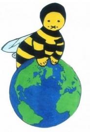 Bijen Baby en Kinder T Shirt korte mouw