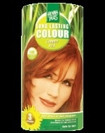 Henna long lasting colour koper rood 100ml