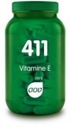 411 AOV Vitamine E 200IE natuurlijk 100 Cap.