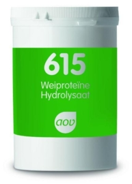 AOV 615 Wei proteine hydrolysaat 600 gram