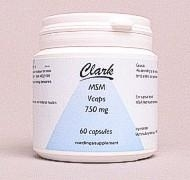 Clark MSM 750 mg 60 capsules