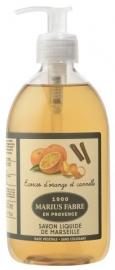 Marius Fabre Herbier zeep 500ml Sinaasappel