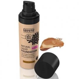 Lavera Liquid foundation almond caramel 30 ml nm.6