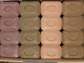 Marseille soaps naturally colored 4 x 12 x 100g