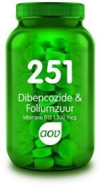AOV 251 Dibencozide & foliumzuur 60 zuigtabletten.