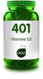 401 AOV Vitamine D 10 mcg 60 cap.