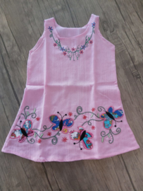 Butterfly dress 100% cotton