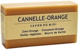Marseille Shea Butter Kaneel-Sinaasappel zeep 100g