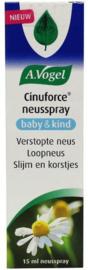 A Vogel Cinuforce neusspray baby/kind 15 ml.