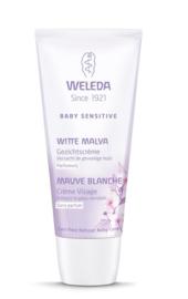 Weleda Baby witte malva sensitive gezichtcreme 50 ml.