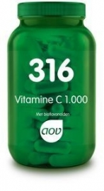 316 Vitamine C 1000 mg bioflavonoiden 50 mg 180 tab.