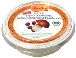 Tartex Pate eekhoornbrood & cranberry 75g
