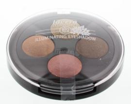 Lavera Oogschaduw/eyeshadow illumin quattro indian 03