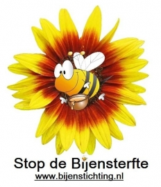 Heren T-Shirt Stop de Bijensterfte